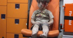 bimbo siriano in autoambulanza